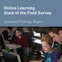 Online Learning: State of the Field Survey (2012)