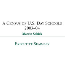 A Census of Jewish Day Schools in the United States – 2003-04 – Executive Summary (2005)