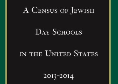 A Census of Jewish Day Schools in the United States – 2013-14 (2014)