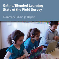 Online/Blended Learning<br />State of the Field Survey