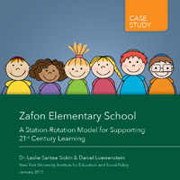 Zafon Elementary School –A Station-Rotation Model for Supporting 21st Century Learning
